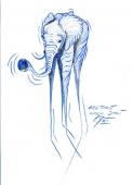 Elefant nach Dali